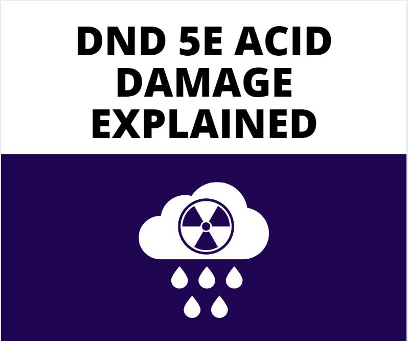 dnd 5e acid damage