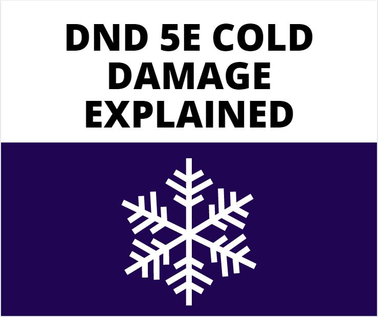 dnd 5e cold damage