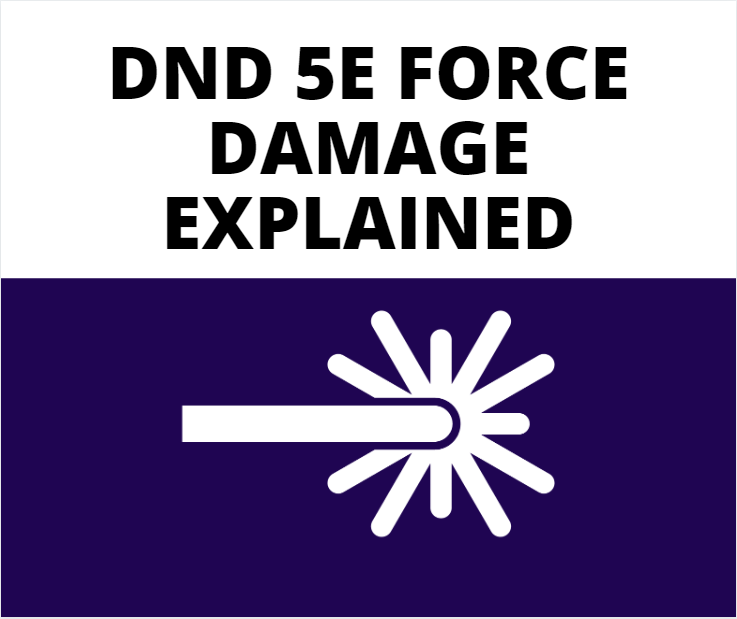 dnd 5e force damage