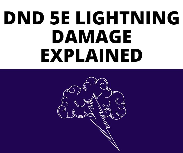 dnd 5e lightning damage