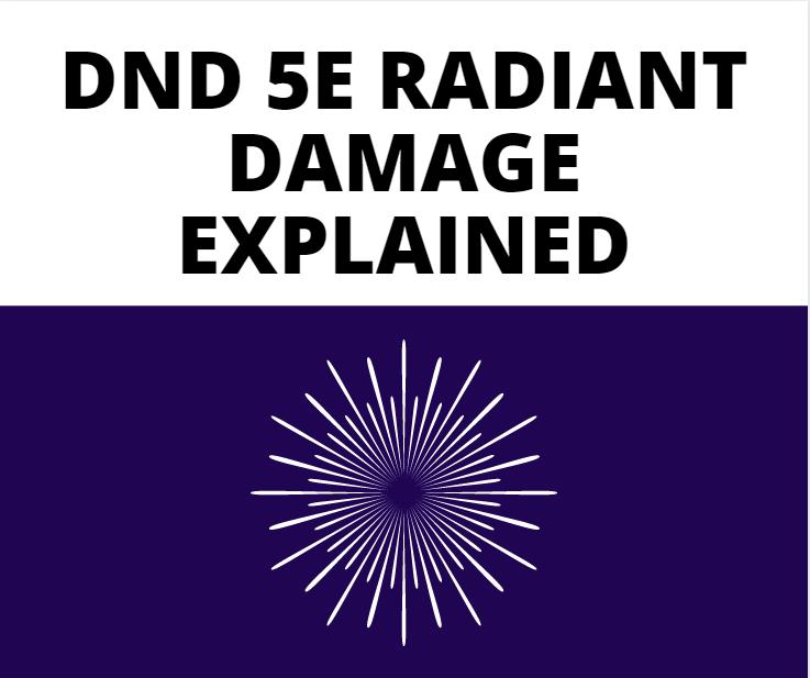 dnd 5e radiant damage