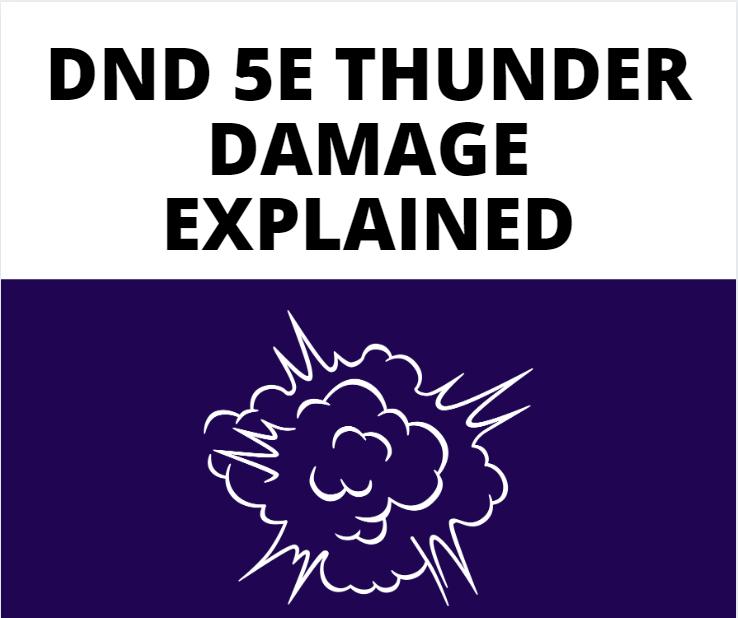 dnd 5e thunder damage