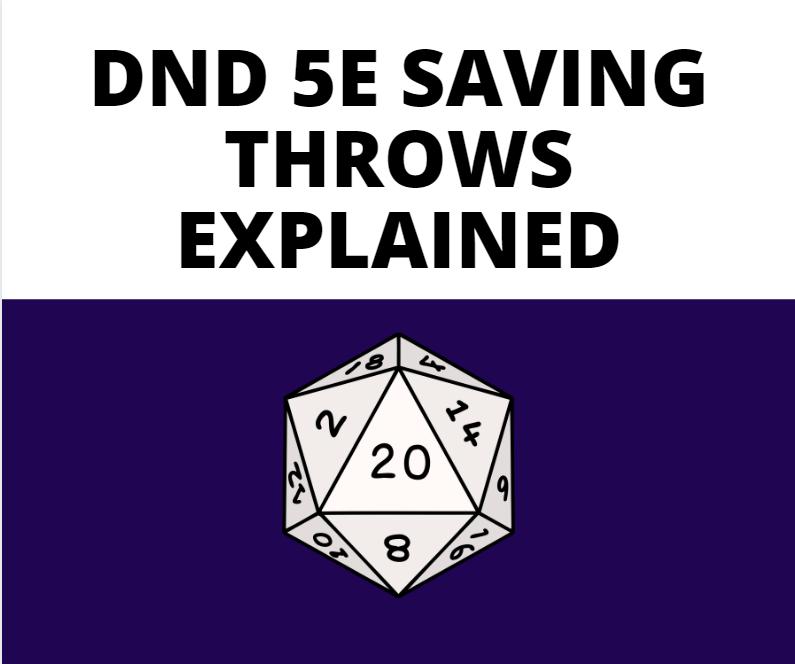 Saving Throws
